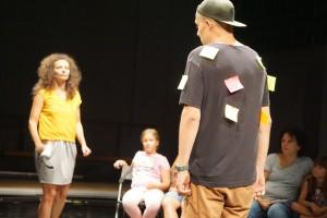 Un spectacol pentru copiii între 7 și 10 ani despre empatie și agresivitate